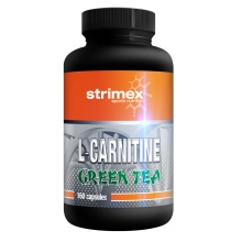 Л-Карнитин Strimex L-Carnitine + Green Tea 160кап